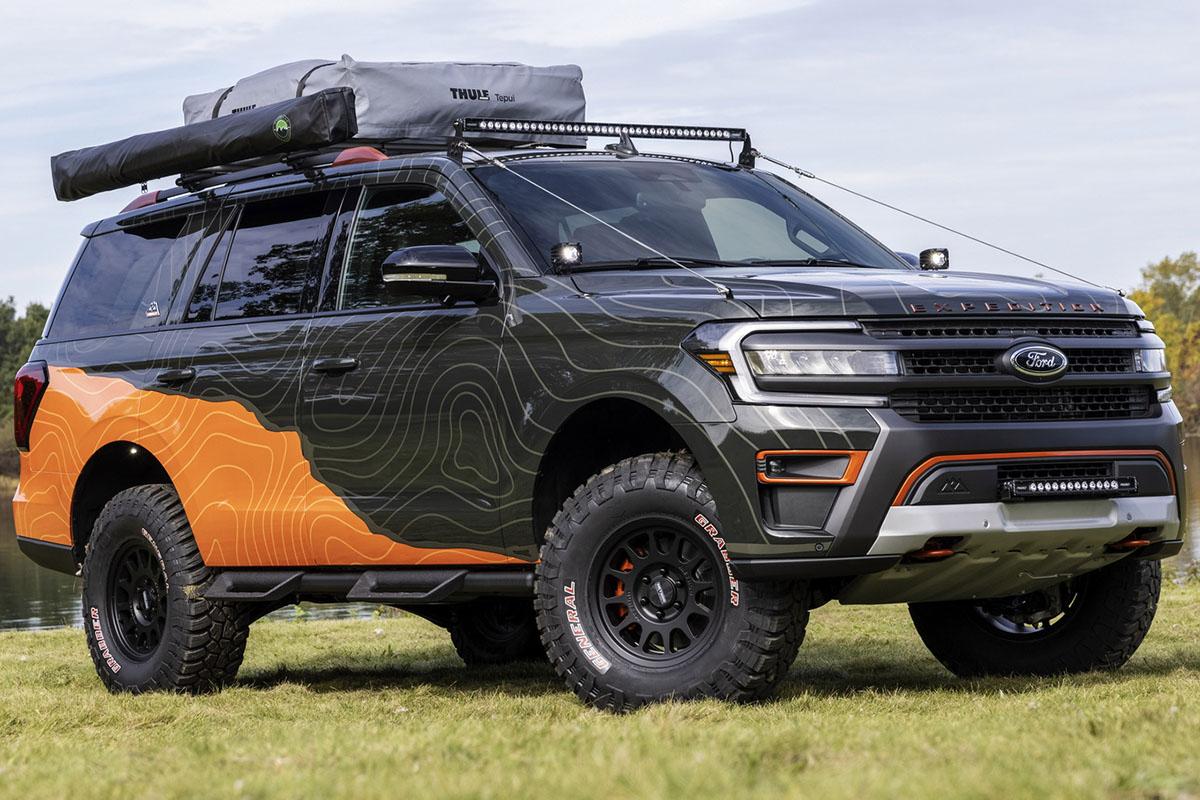 Ford Expedition Timberline Off-Grid Concept, un toque de equipamiento de aventura